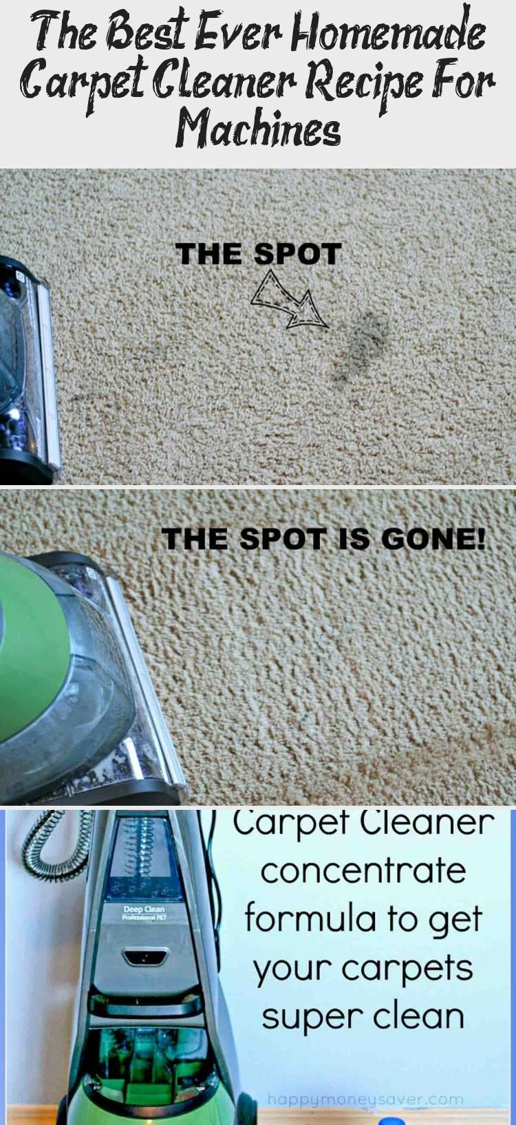 DIY Easy Homemade Carpet Cleaning Solution for Machines ...