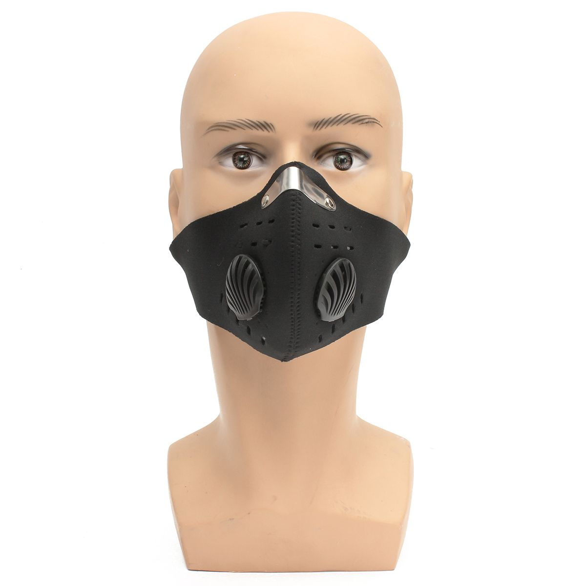 3a5bddb34d2 Motorcycle Racing PM2.5 Gas Protection Filter Respirator Dust Face Mask Head