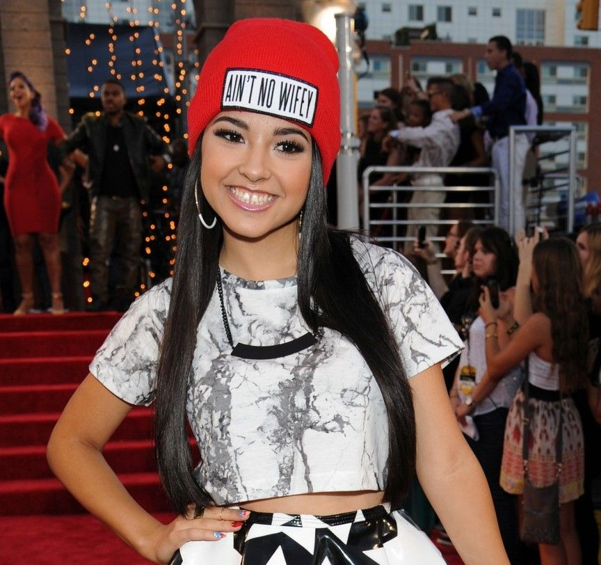 Singer And Dancer Becky G Guest Stars At Radio Station Kiss 108 In