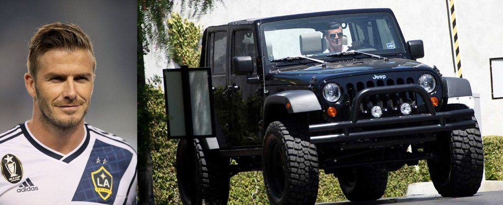 Celebrities Who Own Jeeps: David Beckham | JEEPers Creepers!: All ...