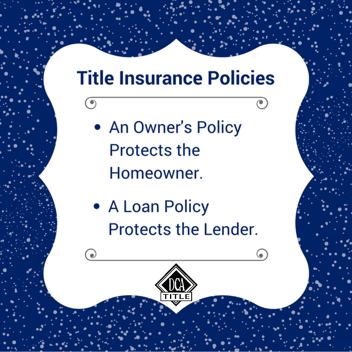 Make Sure To Know The Difference Between An Owners Policy And Loan