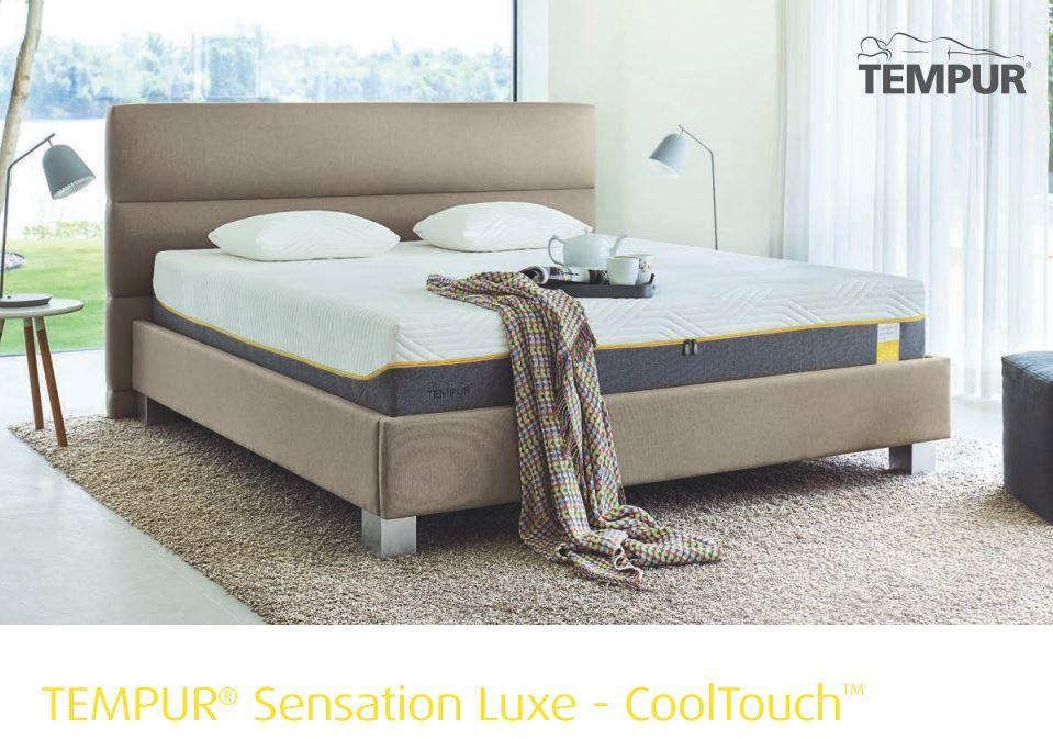 matelas tempur sensation luxe cooltouch matelas de 30cm. Black Bedroom Furniture Sets. Home Design Ideas