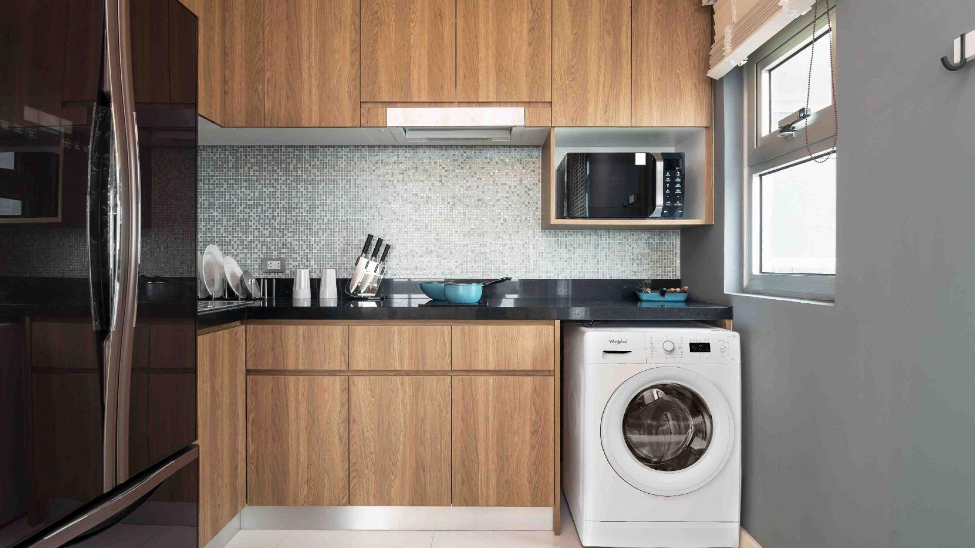 Pralka W Kuchni Czy To Dobre Rozwiazanie In 2021 Medium Kitchen Small Kitchen Layouts Kitchen Layout