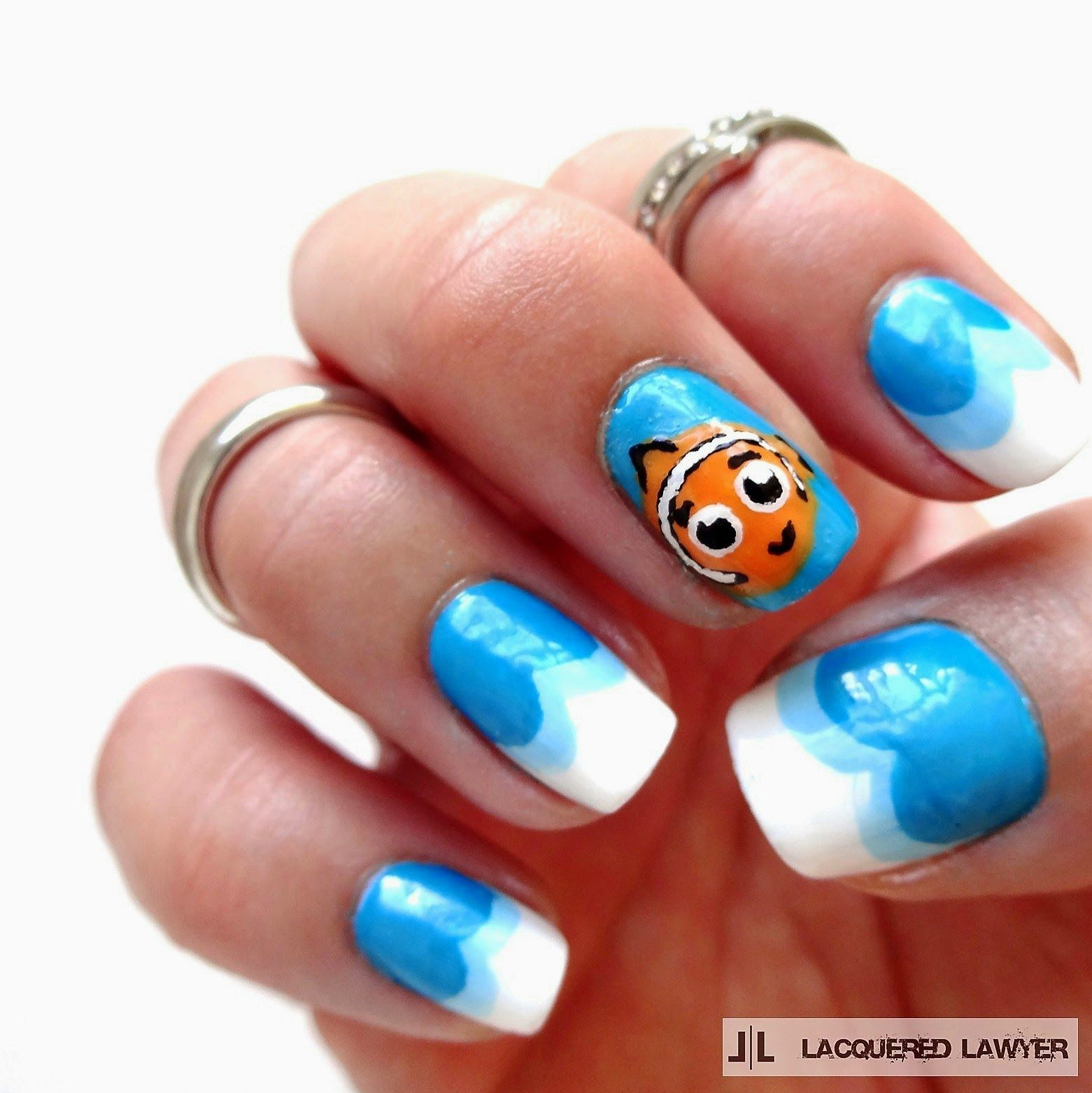 Finding Nemo Nails | Karneval und Nageldesign
