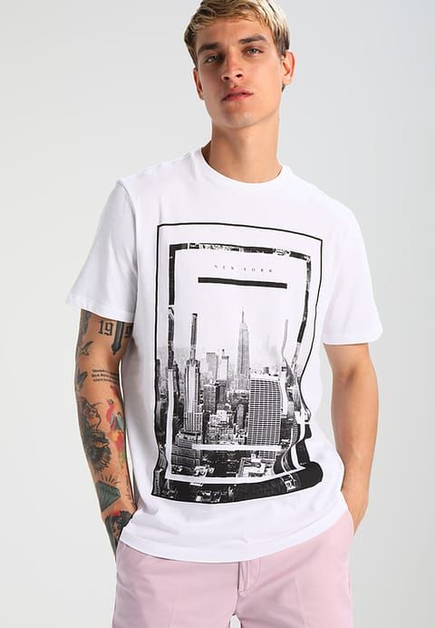 e3b9627b80b5 Pedir New Look NEW YORK TRADITIONAL - Camiseta print - white por 9 ...