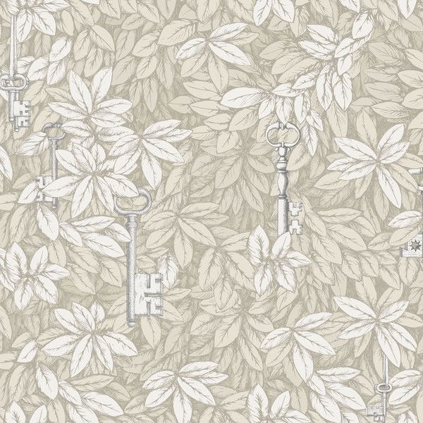 Fornasetti Ii Chiavi Segrete Wallpaper 97 4013 105 495 Crc Liked On Polyvore Featuring Home Gold And Silver Wallpaper Fornasetti Wallpaper Cole And Son