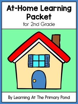 Photo of FREE 2nd Grade At-Home Learning Packet
