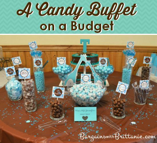 A Candy Buffet On Budget Bargains With Brittanie