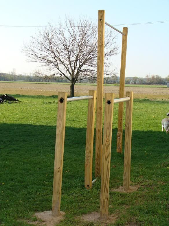 Make Your Own Obstacle Course at Home | Outdoor pull up ...