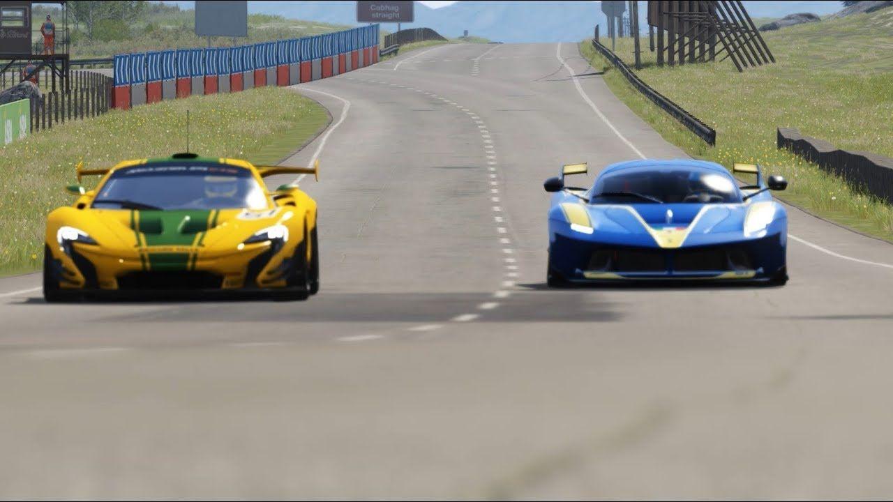 McLaren P1 GTR vs Ferrari FXX-K at Highlands