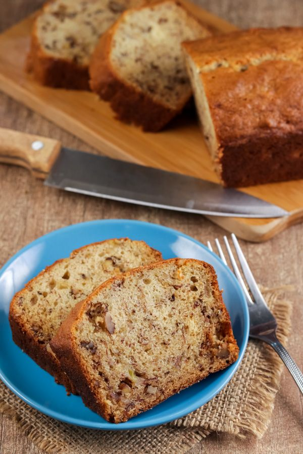 Martha Stewart S Banana Bread With Nuts Or Chocolate Chips Recipe In 2020 Banana Bread Martha Stewart Sour Cream Recipes Chocolate Chip Recipes