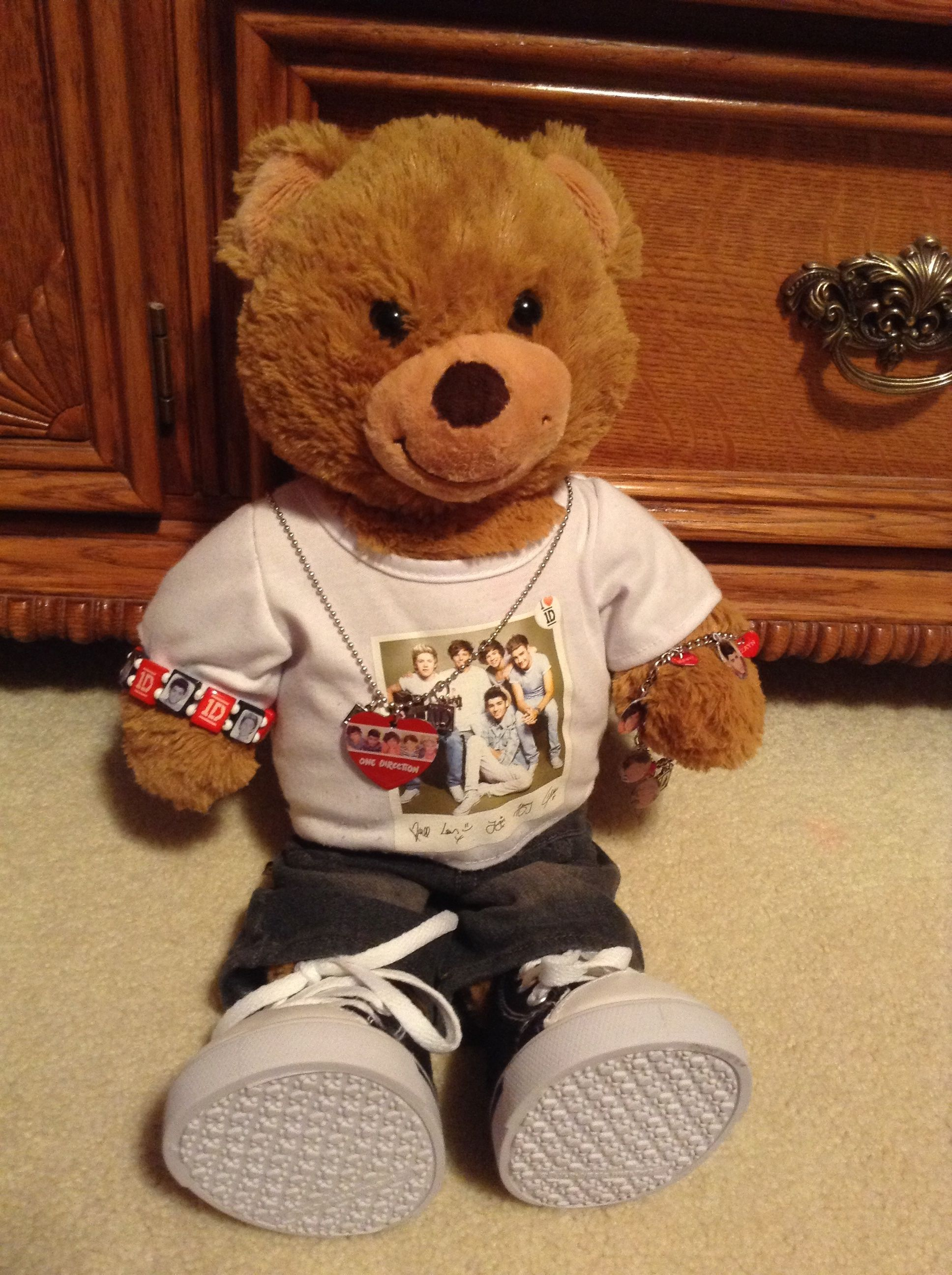 This Is My Bear Modeling Some Of My 1d Jewelry
