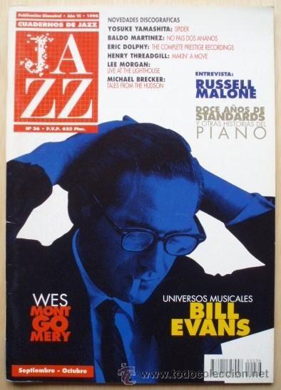 Esta mañana tomamos café con el piano de Bill Evans: Cuadernos de Jazz, Año VI, nº 36