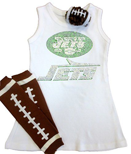 New York Jets Baby Dress | NFL Baby Dresses | Baby Dress, New York