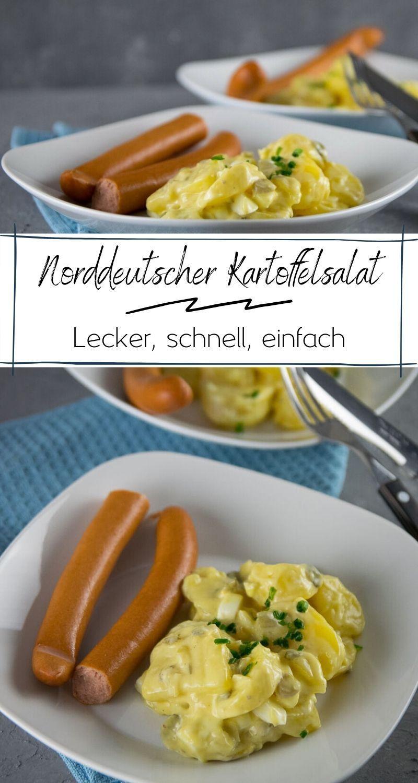 Alle lieben Kartoffelsalat! Rezept für leichten norddeutschen Kartoffelsalat