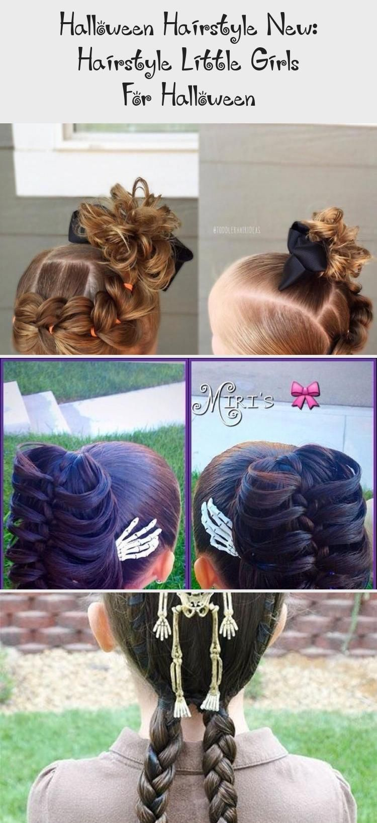Halloween Hairstyle New Hairstyle Little Girls For Halloween 2020