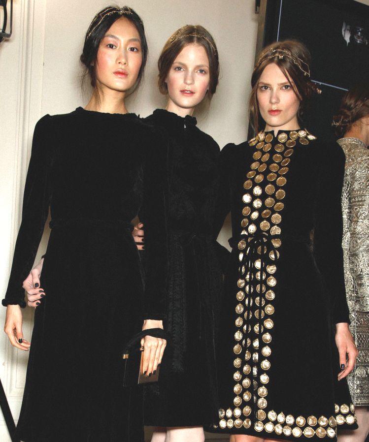 Backstage….Valentino Haute  Couture  Winter 2011