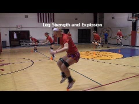 Volleyball Jump Training Technique And Safety Leg Strength Part 4 Youtube Volleyball Training Volleyball Workouts Coaching Volleyball