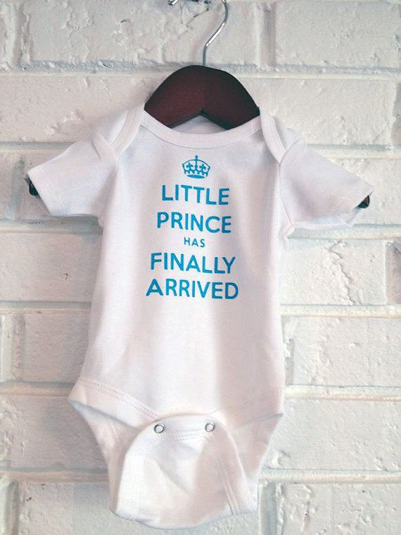 9f6316798 Newborn Baby & Infant Onesie Little Prince has by KituitBoutique ...