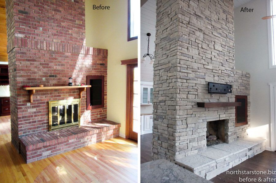 Can Stone Veneer Be Applied Over Brick Before And After Brick