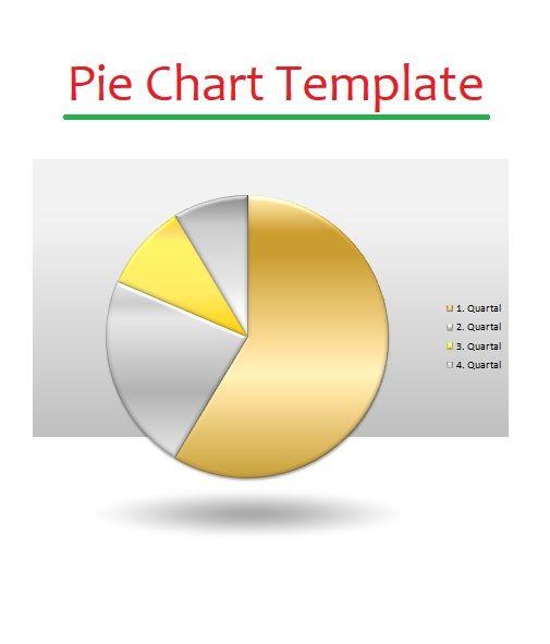 Pie Chart Templates 4+ Printable PDF, Excel  Word Sampleformats - pie chart templates