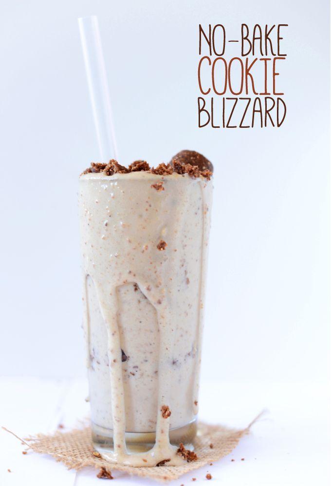 No Bake Cookie Blizzard | minimalistbaker