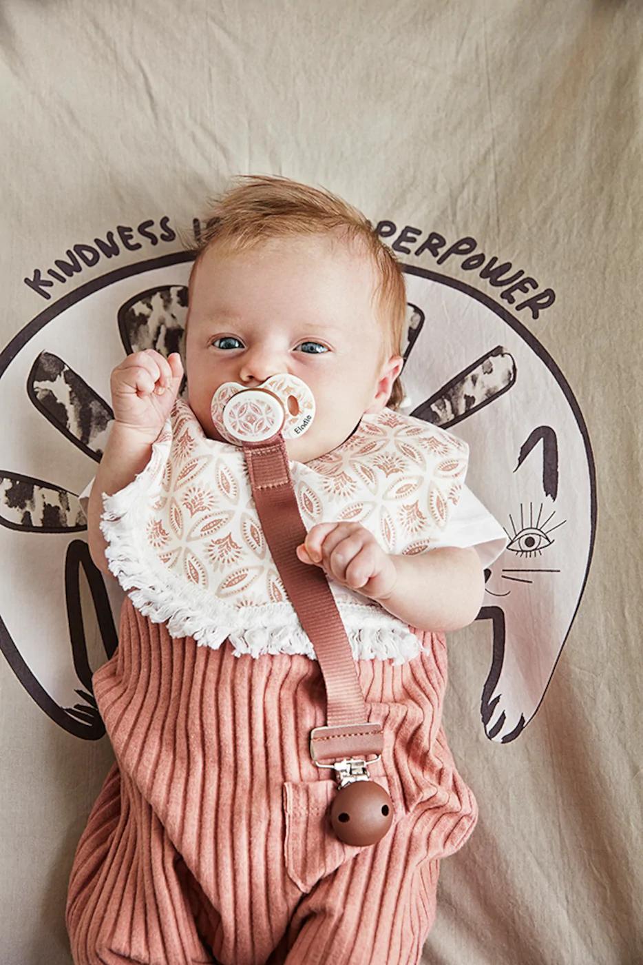 dummy pacifier clip baby girl princess teddy bear clip