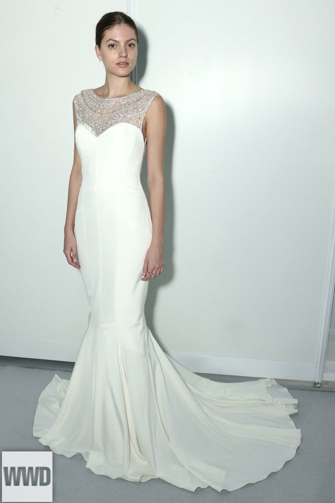 bde426aceac Nicole Miller Bridal Fall 2014 Photo by Thomas Iannaccone