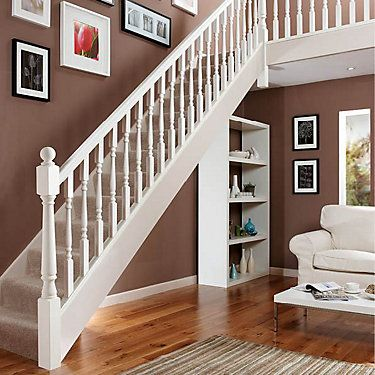 Best Colonial Pine 41Mm Complete Banister Project Kit 400 x 300
