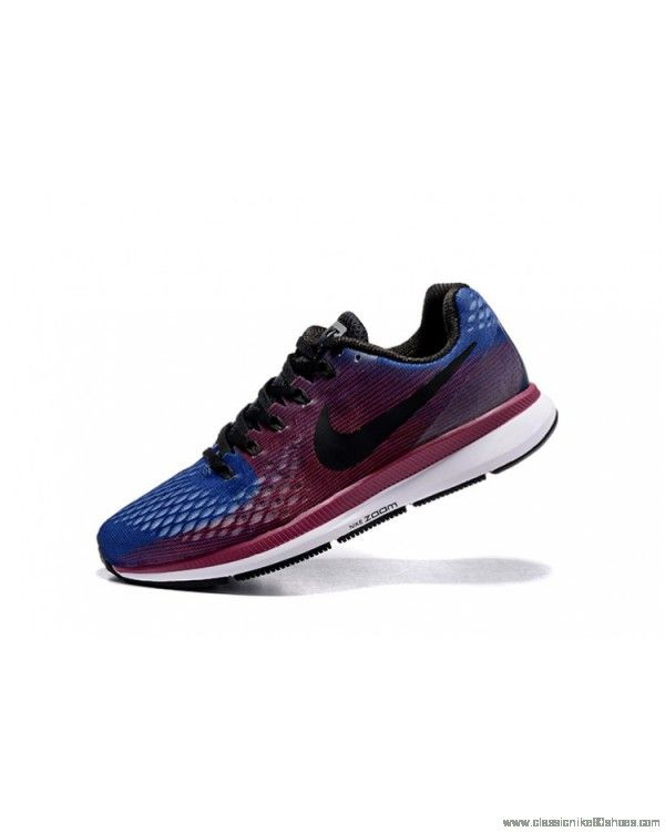 Nike Air Zoom Pegasus 34 Release Running Blue Gray Rainbow Shoes Special offer