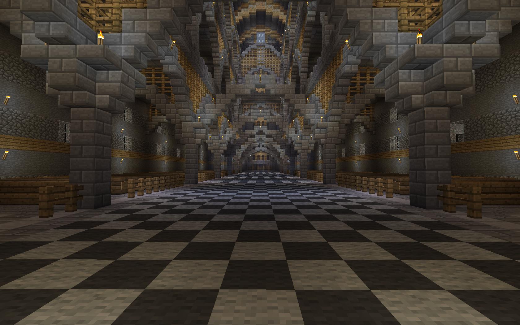 Minecraft Cathedral Interior Google Search Minecraft
