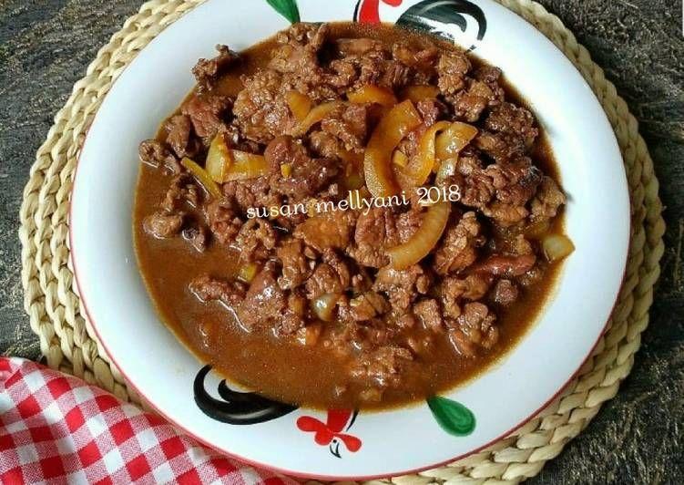 Resep Beef Teriyaki Oleh Susan Mellyani Resep Daging Tumis