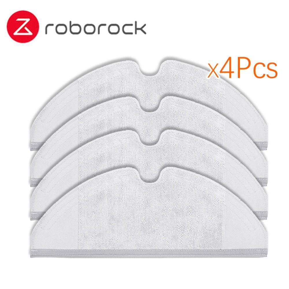 4 Pcs Roborock S50 S51 Pecas Mop Panos Para Xiaomi Originais