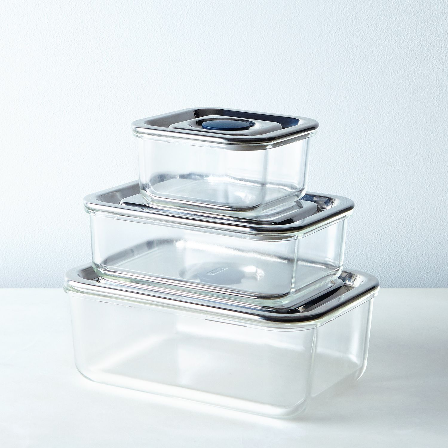 Airtight Glass Storage Containers Glass storage containers Fridge