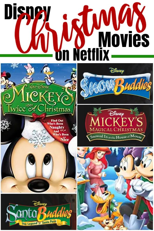 All The Best Disney Christmas Movies On Netflix | Kids christmas movies, Disney christmas movies ...