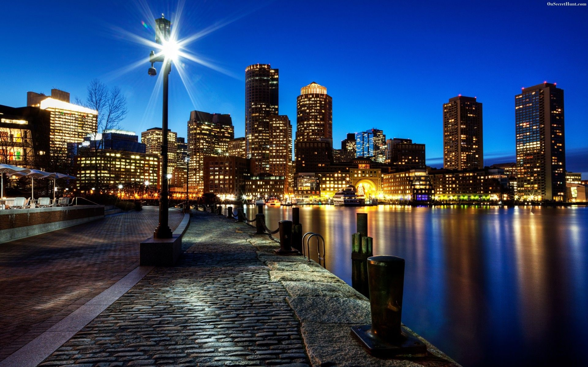 animated city skylines Google Search Boston family