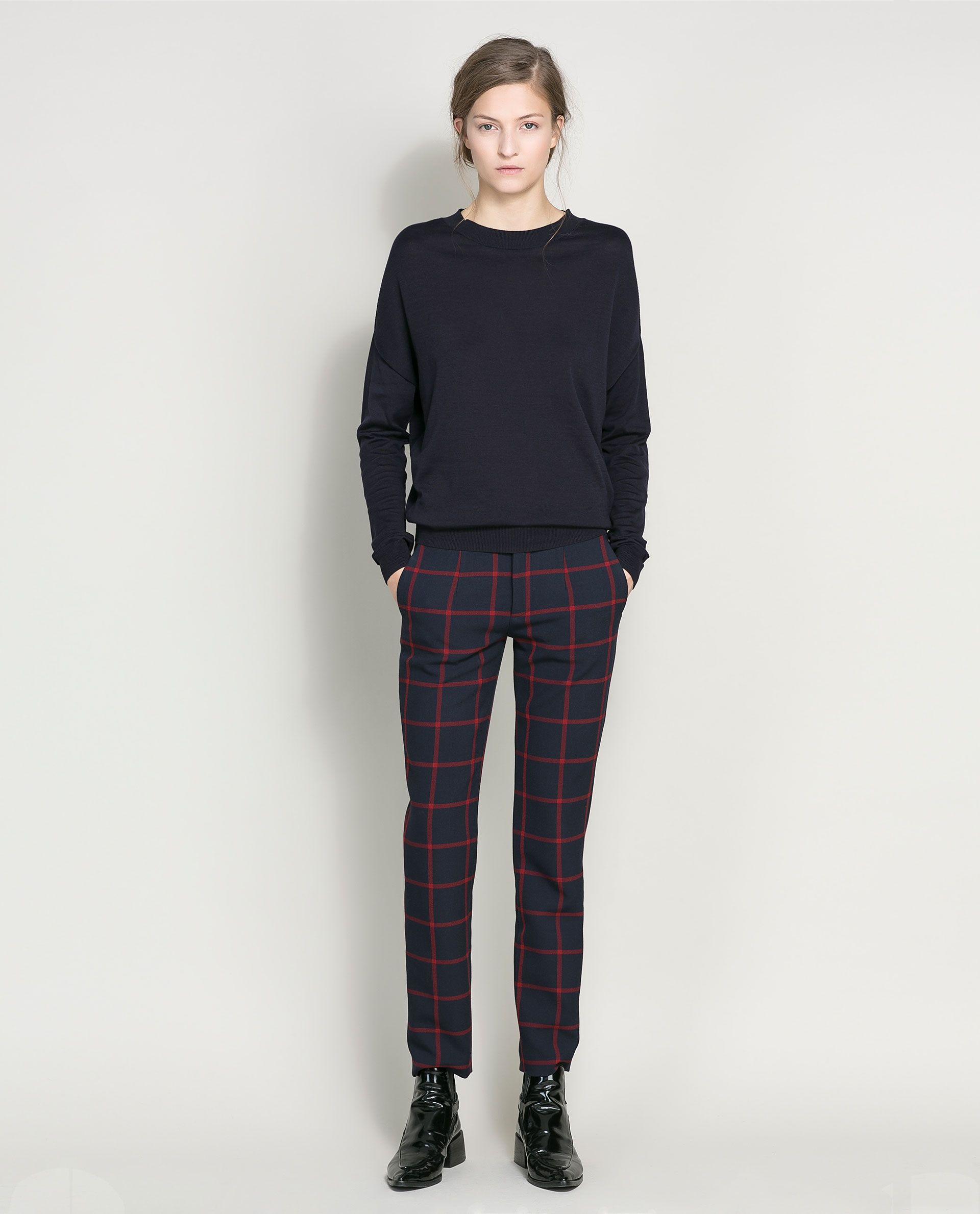 COTTON SILK JUMPER - Knitwear - Woman   ZARA Canada