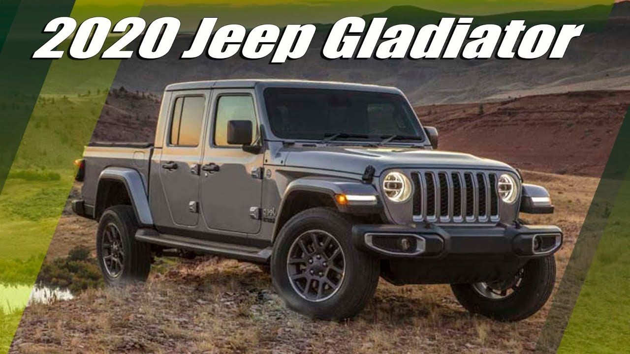 2020 Jeep Gladiator Pickup Truck First Official Images And In 2020 Jeep Gladiator Jeep Gladiator For Sale Jeep