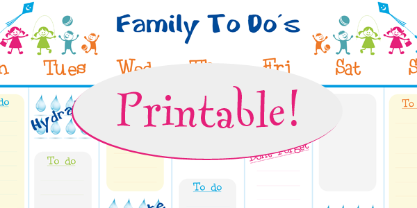 Free Family Calendar Template Boatremyeaton