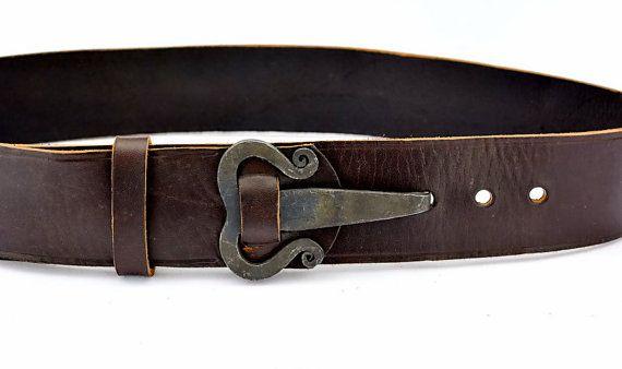Iron age belt with hand forged belt-hook-buckle -  10 Ei-G 5 Kelt ... ffe88f5f728