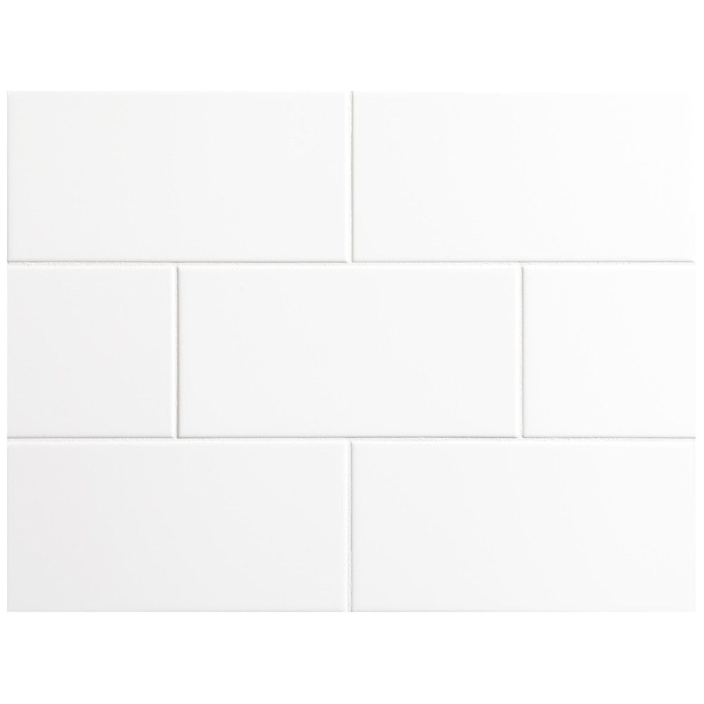 Nori ceramic collection tile white gloss 4 x 8 mybathroom nori ceramic collection tile white gloss 4 x 8 dailygadgetfo Gallery