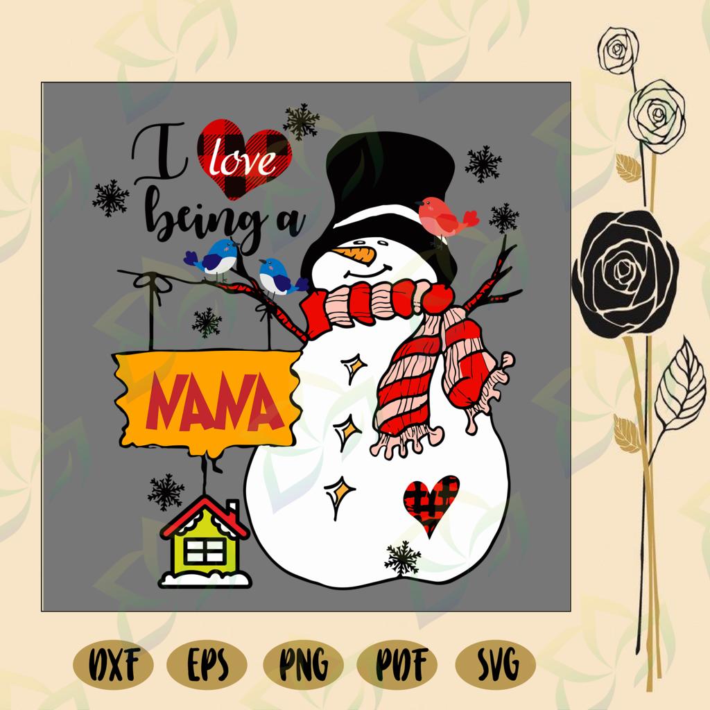 Download I love being a nana, nana svg, nana life, nana gift ...