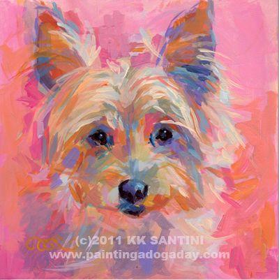 """Nina II"" - Original Fine Art for Sale - © Kimberly Santini"