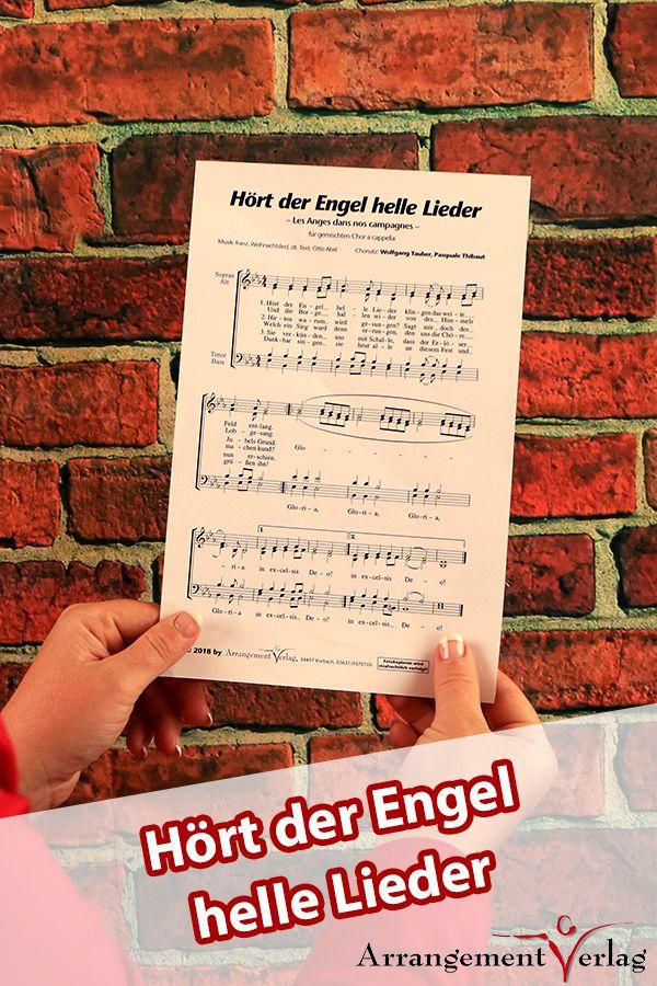 Hört der Engel helle Lieder für gemischten Chor ✓ Das bekannte ...