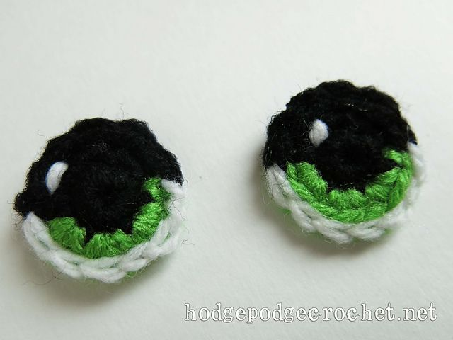 Amigurumi Eyes pattern by Tanya Naser | Ojos en croche | Pinterest ...