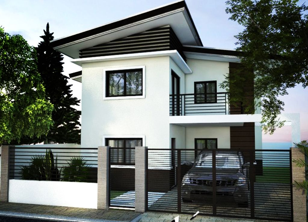 House Design Philippines 1 House Fence Design 2 Storey House