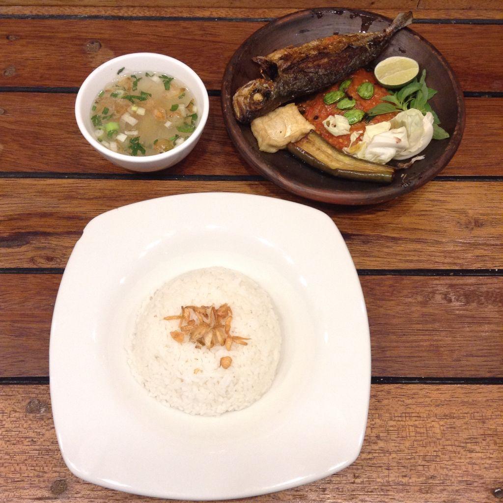 Paket nasi narasa BY next door cafe and resto (indonesian food)