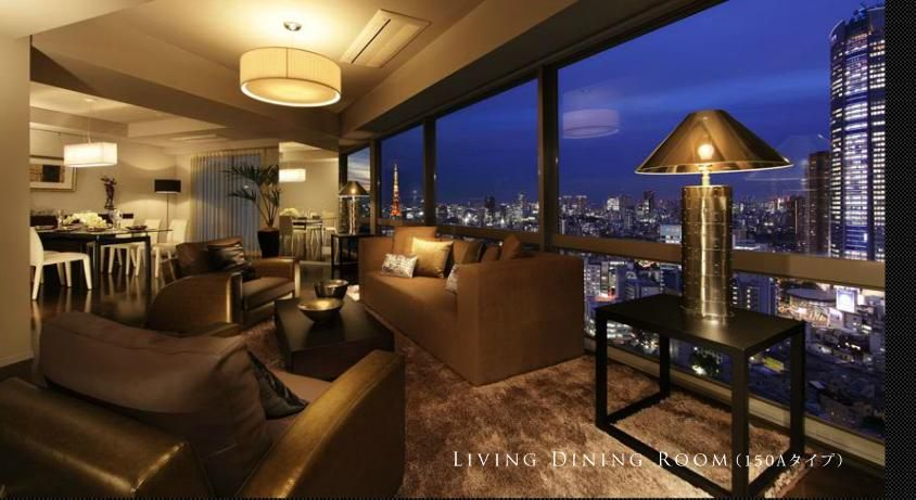 Roppongi Hills Tokyo Penthouse View