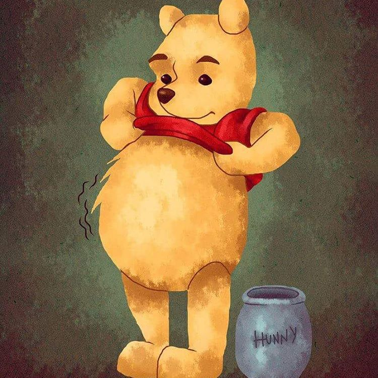 There S A Rumbly In My Tumbly Time For Something Sweet Pooh