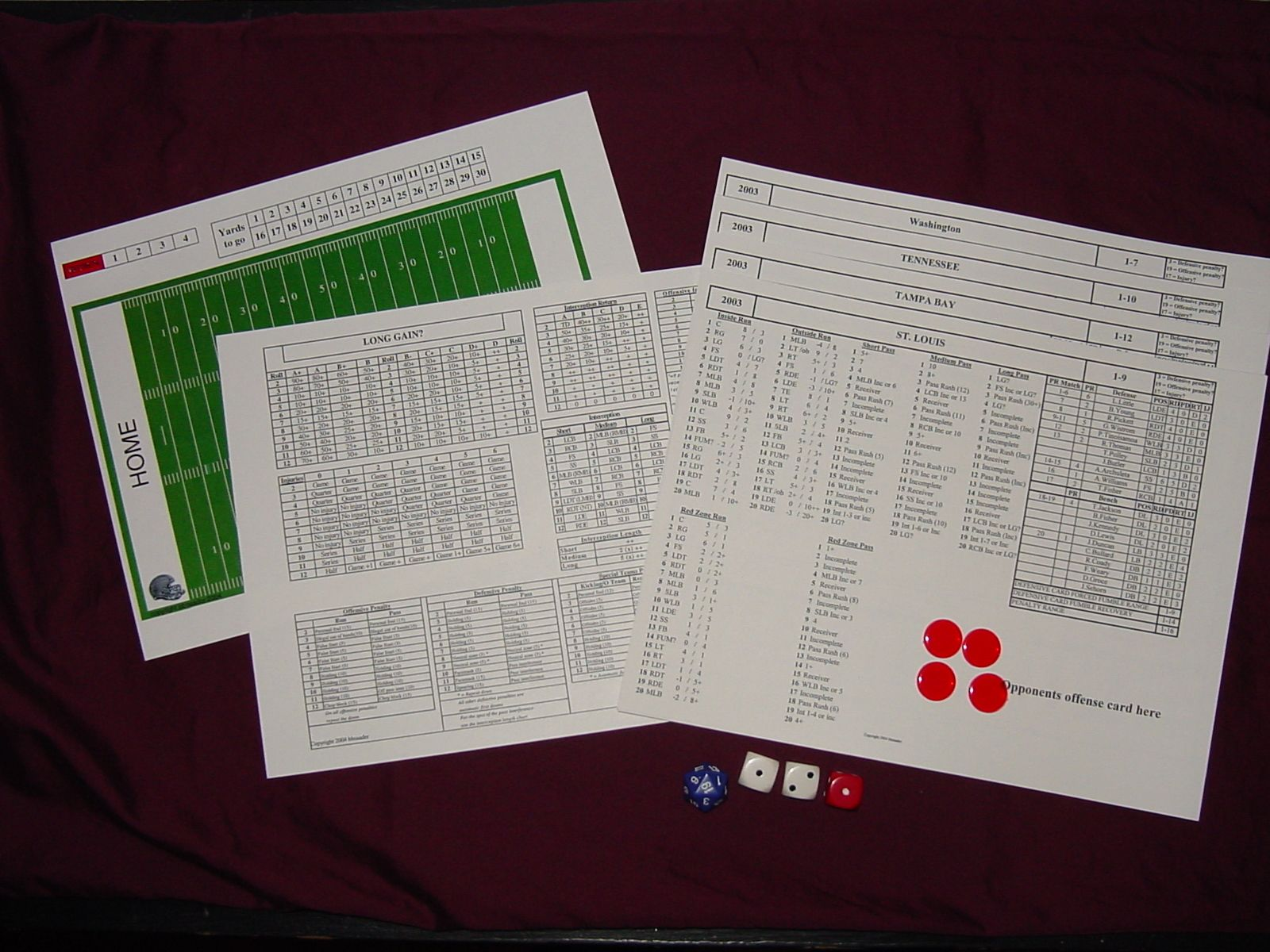 Playmaker's Football Football, Board games, Table top